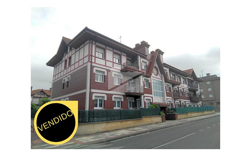 Vivienda con garaje y trastero en Sondika (S/411)  260.000€ VENDIDO